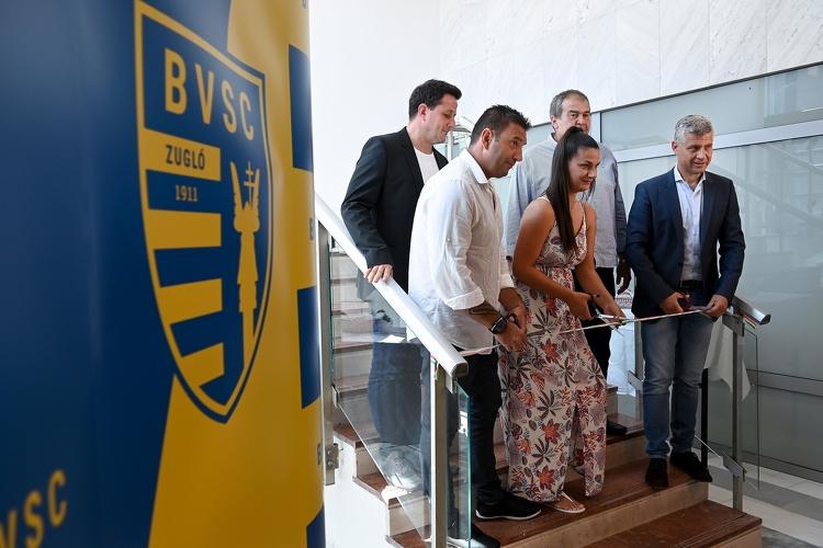 Átadták a BVSC-Zugló felújított székházát